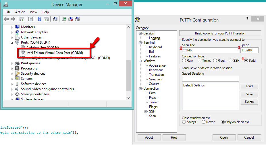 PuTTY_VirtualCOMPort