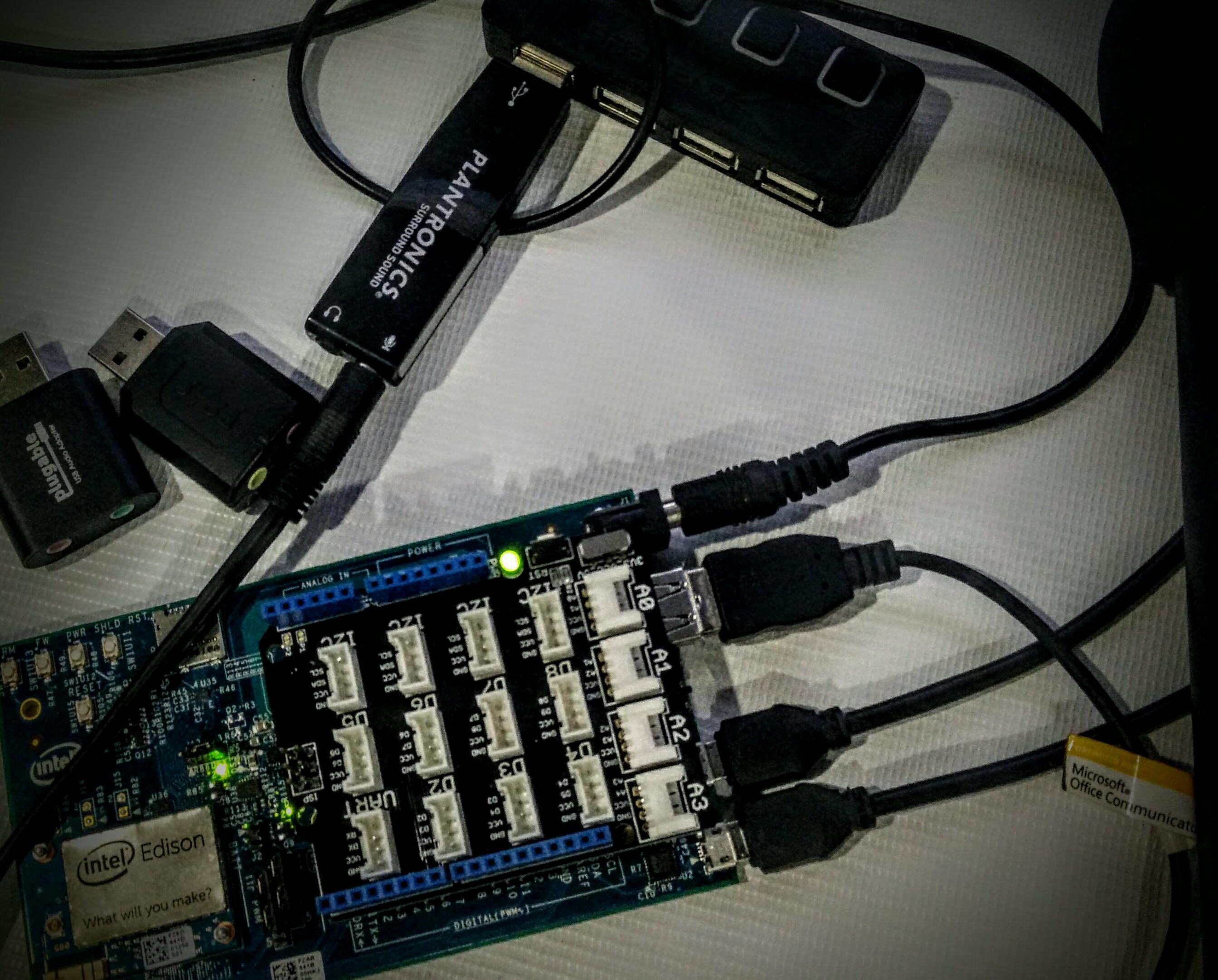 Intel Edison – Cómo Grabar Sonido usando un adaptador USB