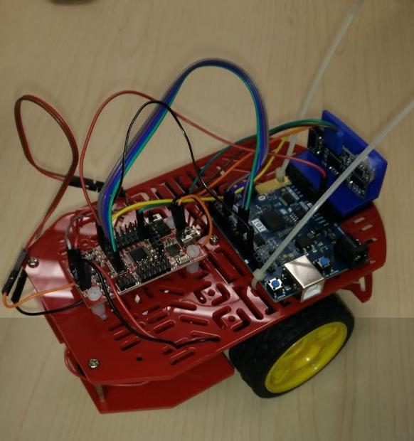 Robot de dos llantas + acelerómetro/giroscópio > Una experiencia de Aprendizaje