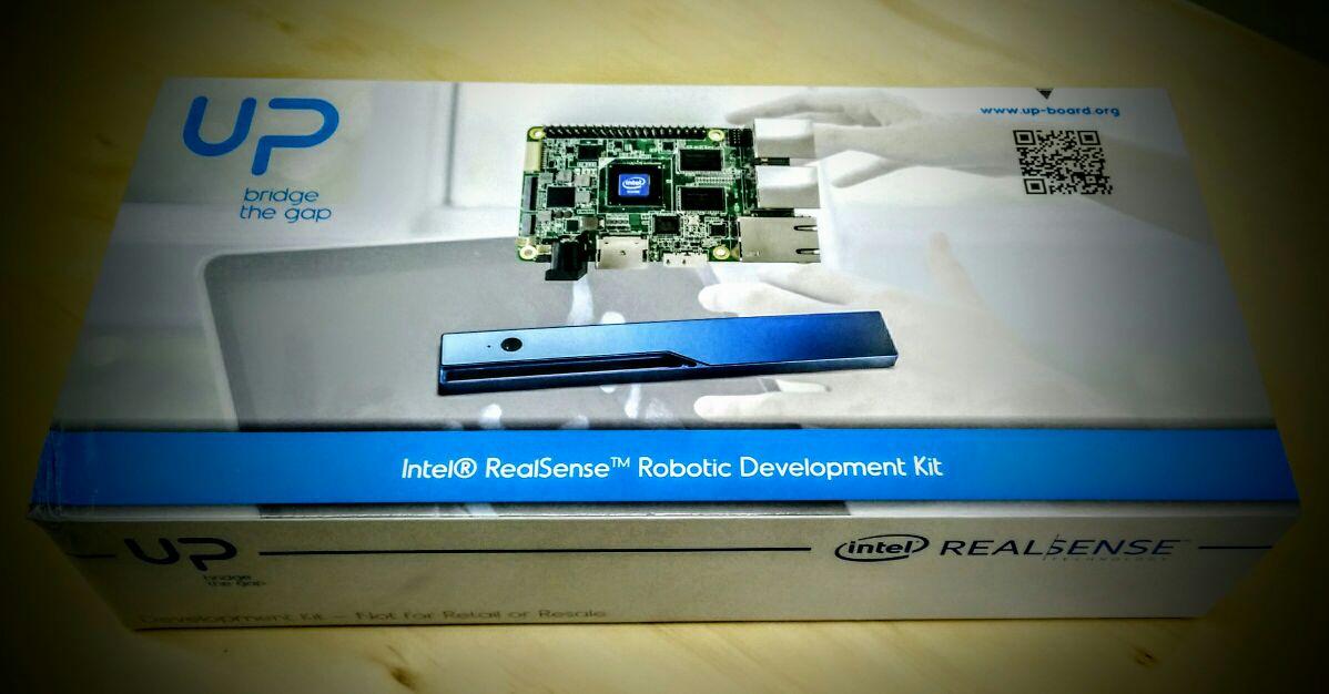Intel UPBoard y el kit de robótica Real Sense
