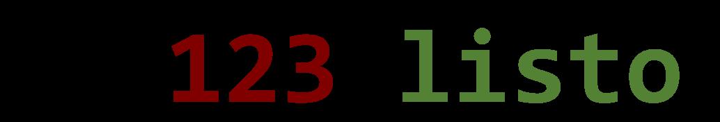 123 ¡Listo! – Estación de Trabajo IONIC3 para desarrollo de aplicaciones móviles.