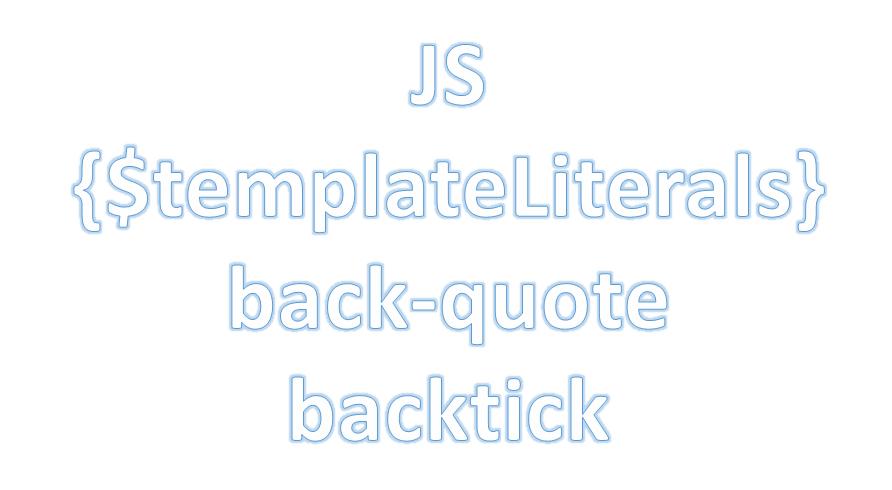 QuickTIP: Plantillas Literales en Javascript