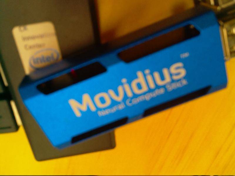 Un vistazo al Neural Compute Stick de Movidius/Intel