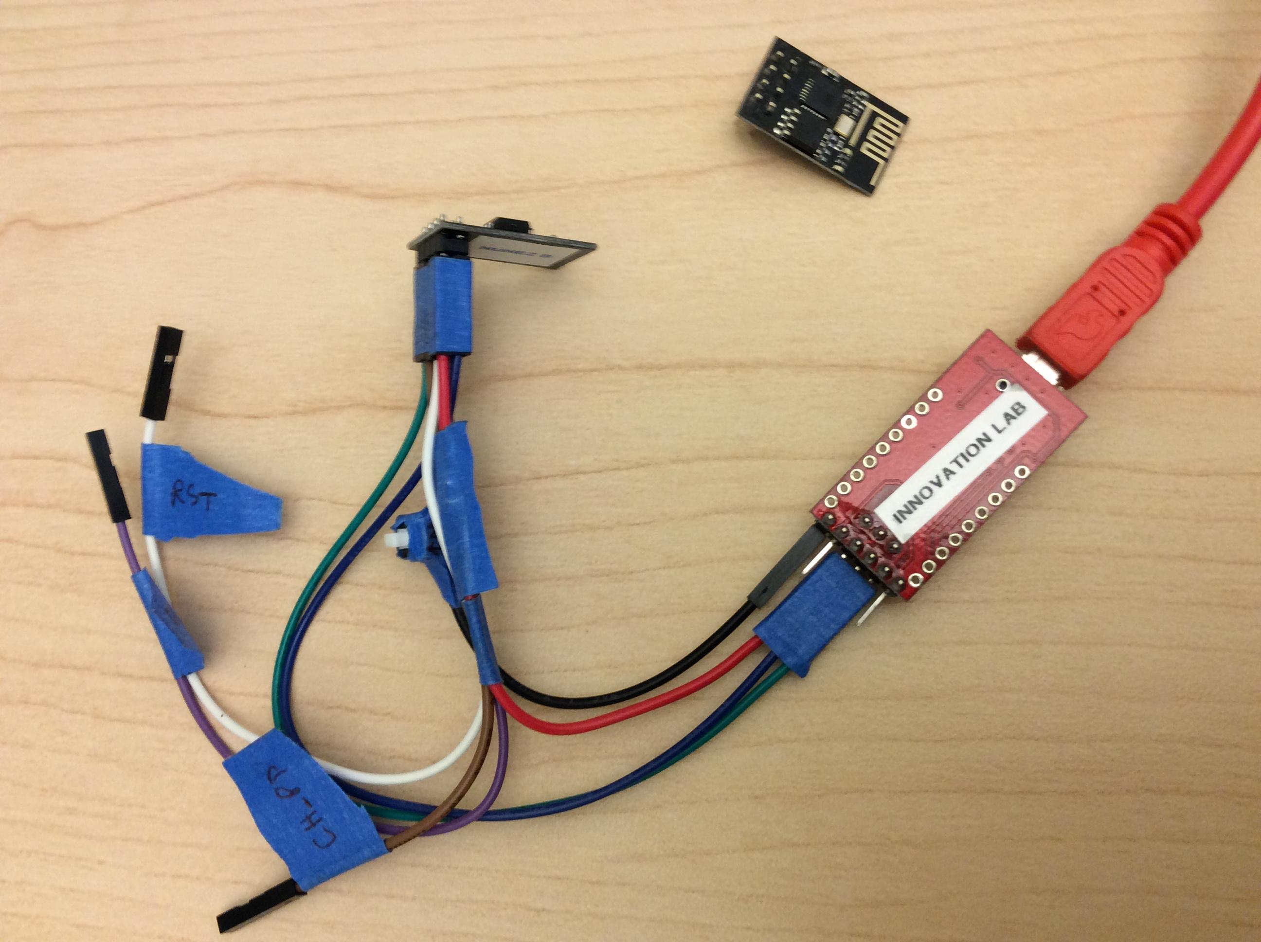 ESP8266 – Serial WiFi Logger